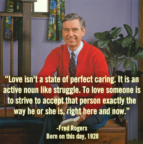 Mr Rogers on Acceptance