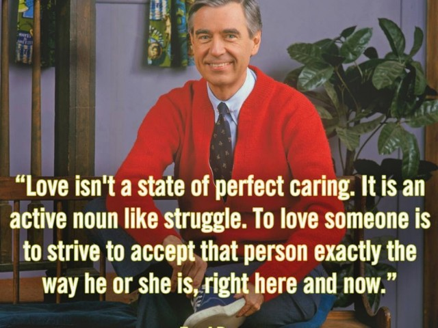 Love is acceptance