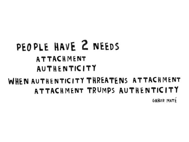 Attachment and Authenticity